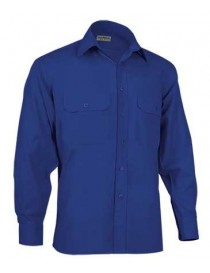 Camisa manga larga 2 bolsillos Academy