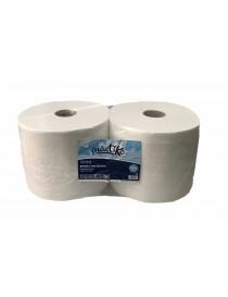 Bobina papel industrial reciclada Laminada 3Kg. PACK 2u.