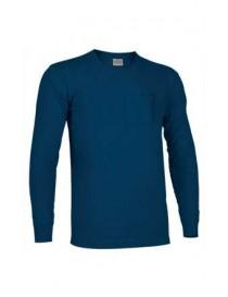 Camiseta manga larga con bolsillo algodón Bear