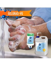 Gel de manos con Glicerina PACK 4u. + caña dosificadora