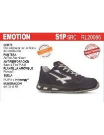 """Zapato """"Emotion"""" con puntera y plantilla S1P UPower"""