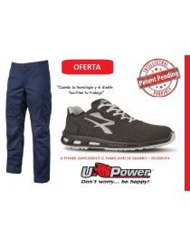 "Pack UPower Pantalón slim ""Ocean"" + Zapato ""Raptor"""