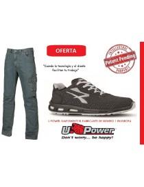 Pack UPower Pantalón vaquero Traffic + Zapato Raptor