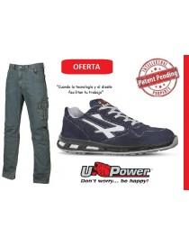 Pack UPower Pantaló vaquero Traffic + Zapato Emotion